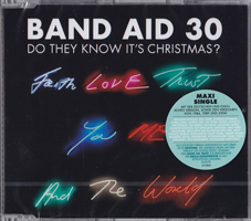 Band Aid 30 DE CD maxi version featuring Roger Taylor