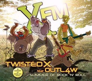 Twisted X Outl4w Summer of Rock'n'Roll featuring Roger Taylor