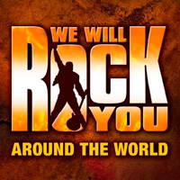 We Will Rock You Around the World EP featuring Roger Taylor