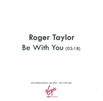 Roger Taylor Be With You UK promo album cover back