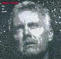 Roger Taylor Be With You UK promo album cover front