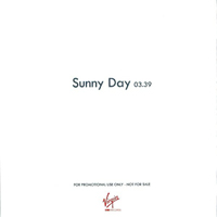 Roger Taylor Sunny Day UK promo album cover back