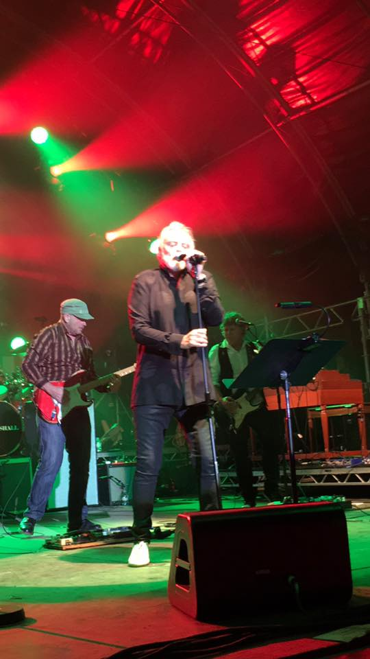 Roger Taylor at Wintershall concert, 2nd July 2016