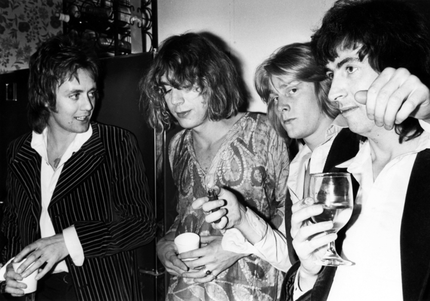 roger taylor + kevin ayers + steven t + al stewart 1977