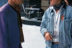 david_bowie_and_roger_taylor 1992