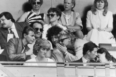 Live Aid Queen + David Bowie- Royal box