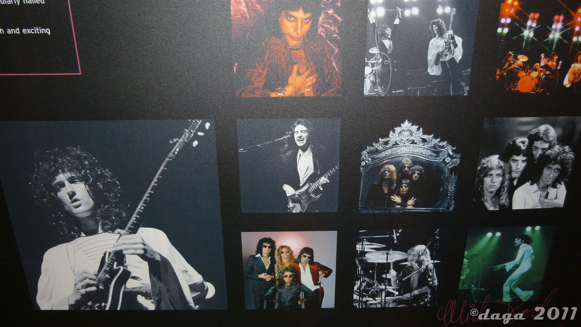 Queen Roger Taylor 2011 London Exhibition --027