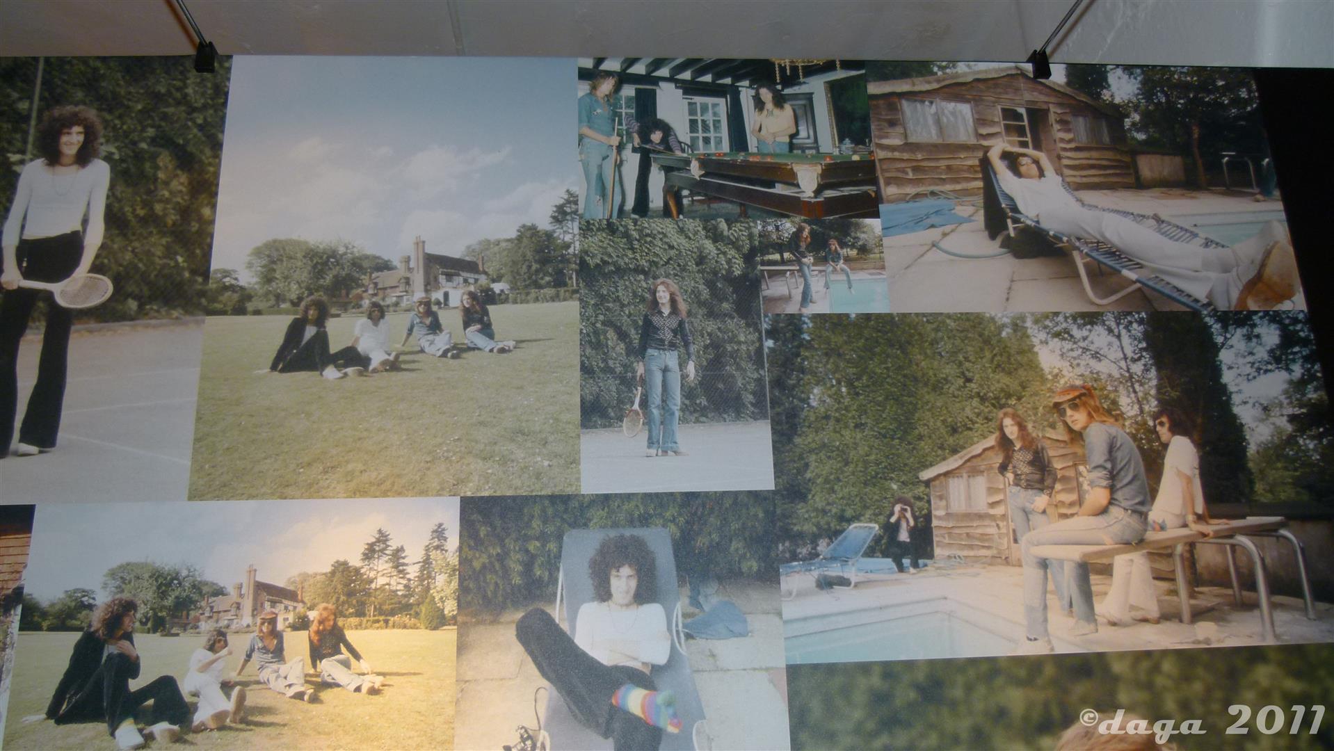 Queen Roger Taylor 2011 London Exhibition --030