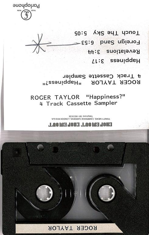 Happiness promo sampler cassette (Medium)