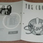 1988 The Cross Shove It German promo insert (outer)