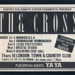 1988-03 The Cross Shove It UK Tour Ad