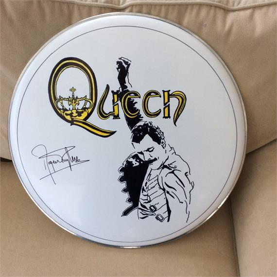 autographed by roger taylor roger taylor beyond queen solo and with the cross. Black Bedroom Furniture Sets. Home Design Ideas