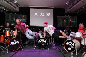 2013 Longest marathon drumming at ACM
