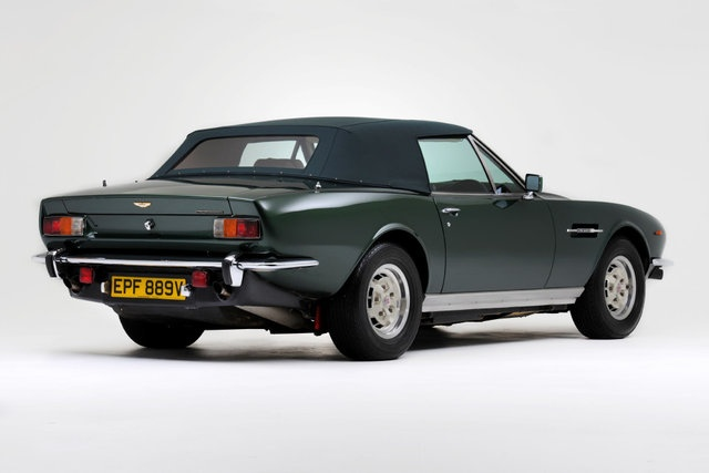 Aston Martin V8 Volante Series I – Roger Taylor beyond Queen