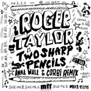 "Roger Taylor ""Two Sharp Pencils (Get Bad)"" EP cover"